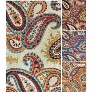 Paisley Wool Rug