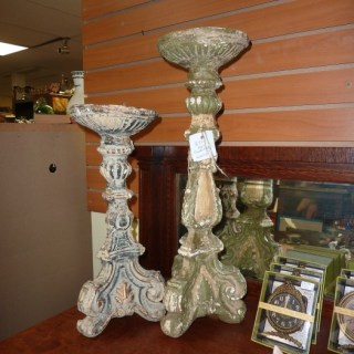 Whats Ur Home Story: Vintage Candle Holders