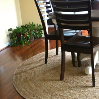 Whats Ur Home Story: Round Jute Rug