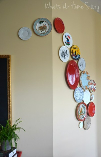 Decorative Plate Wall