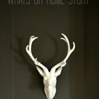 faux deer head mounts,DeerHead,FauxTaxidermy,WhiteFauxTaxidermy