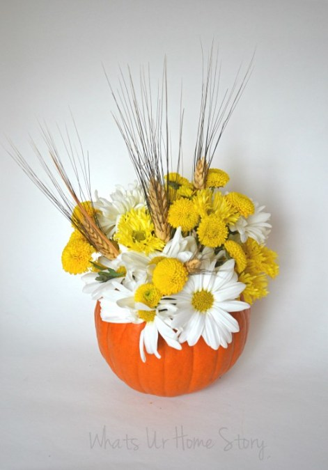 Pumpkin Floral Centerpiece