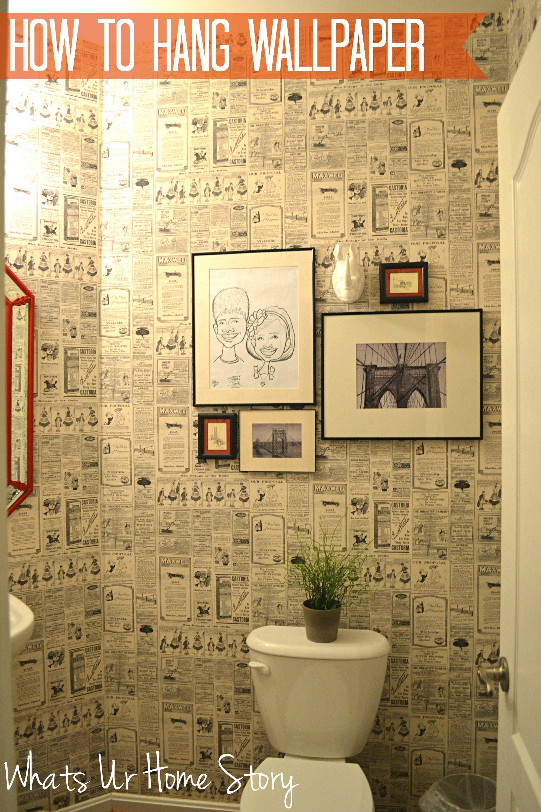 How to Hang Wallpaper | Whats Ur Home Story