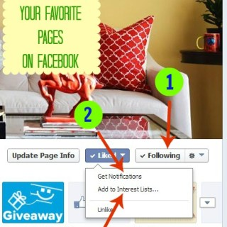 Get Updates from Your Favorite Pages on Facebook