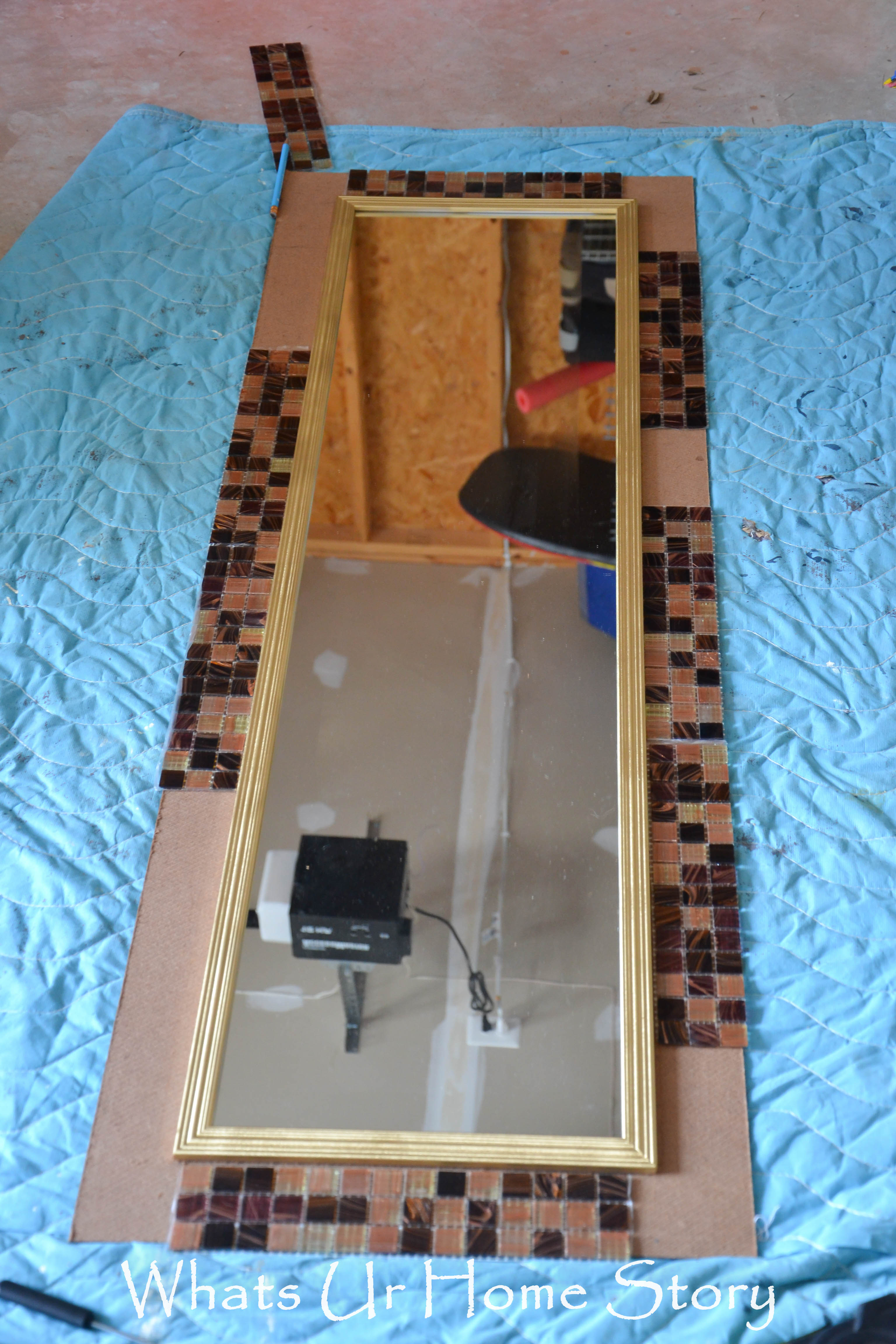 DIY Tile Mirror