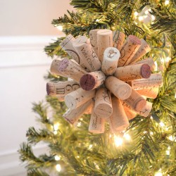 Bird Wine Cork Ornaments