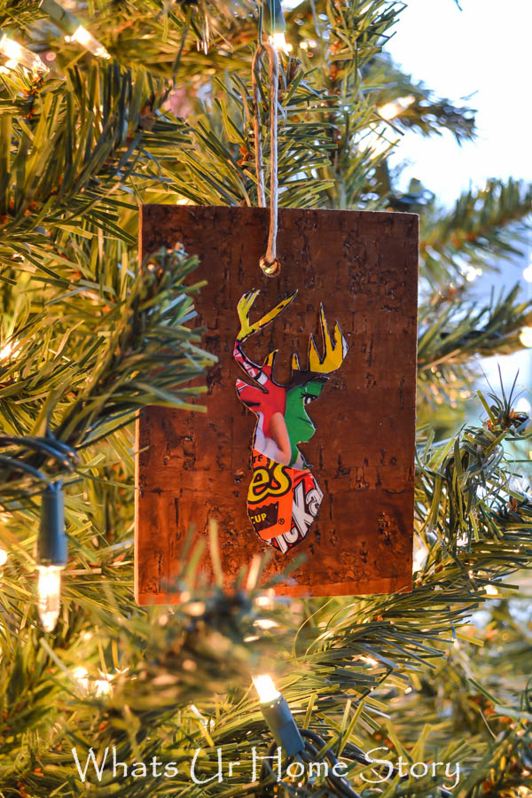 Woodland Reindeer Ornaments