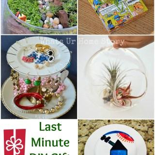 Last Minute DIY Gift Ideas