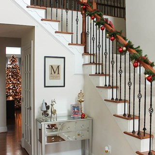 Reader Showcase Rustic Glam Christmas Home Tour