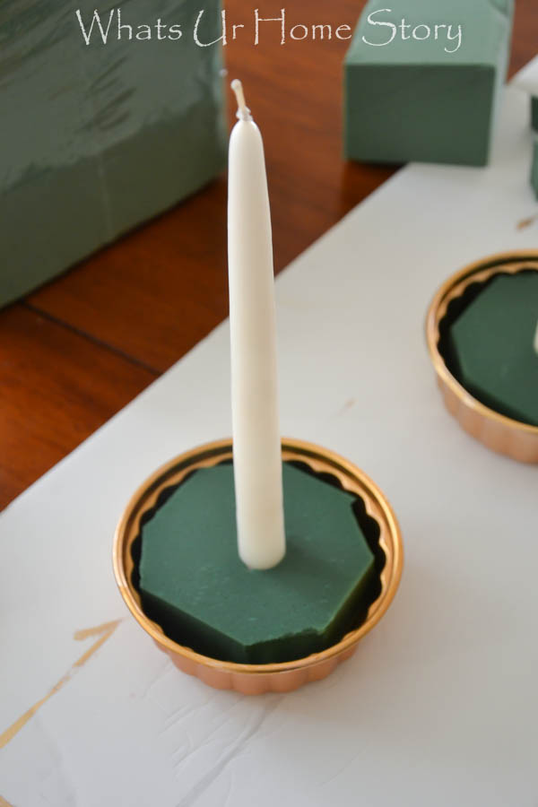 Simple Holiday Centerpieces