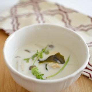 Tom ka gai Thai Chicken Soup