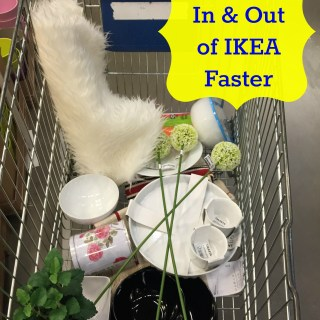 Tips on how to make IKEA shopping faster