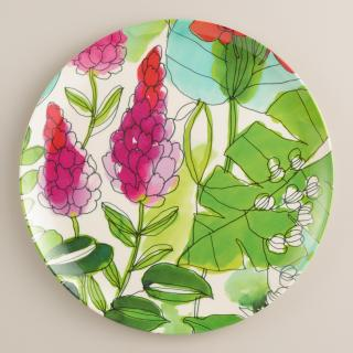 Floral Fiji Dinner Plates watercolor plates