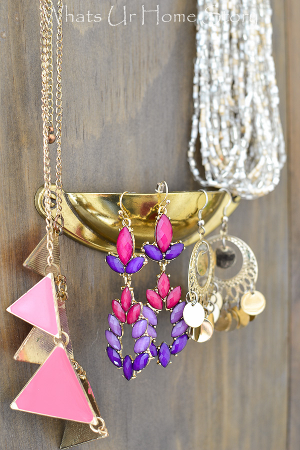 DIY Jewelry Organizer Whats Ur Home Story
