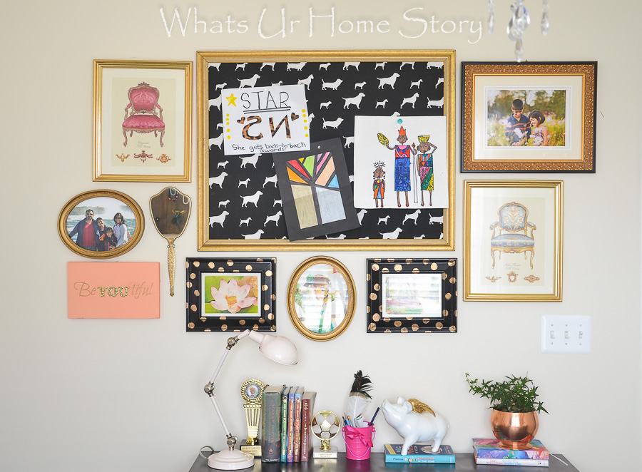 Simple and Easy Gallery Wall