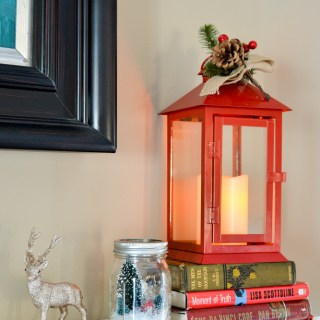 holidays with Hallmark Flickering Lantern