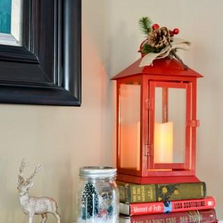 holidays with Hallmark Flickering Lantern
