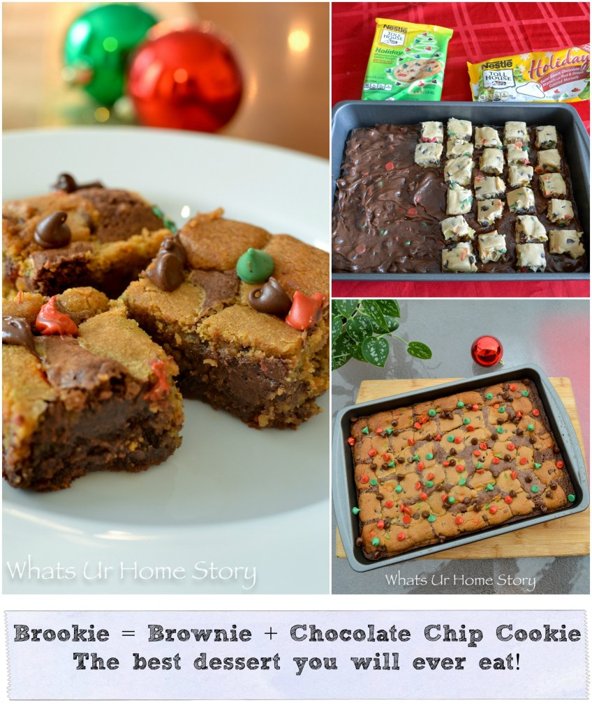 Brookie   The Must Make Holiday Dessert!