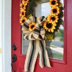 Sunflower Wreath Diy Whats Ur Home Story
