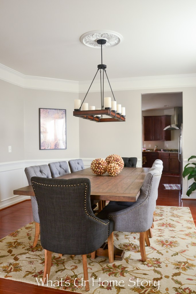 Our New Transitional Dining Room