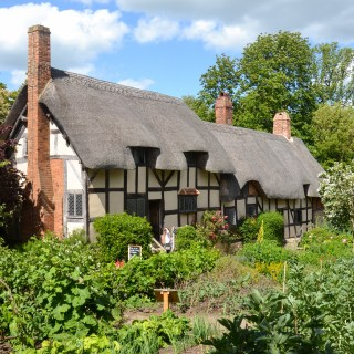 Anne Hathaway's childhood home in Stratford Upon Avon-UK