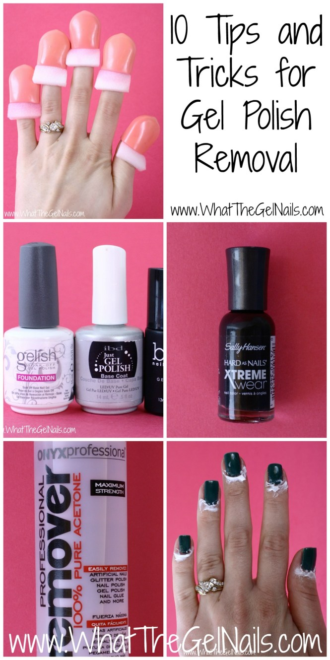 Image Led Remove Nail Polish From Acrylic Nails Without The Ing Off Step 1