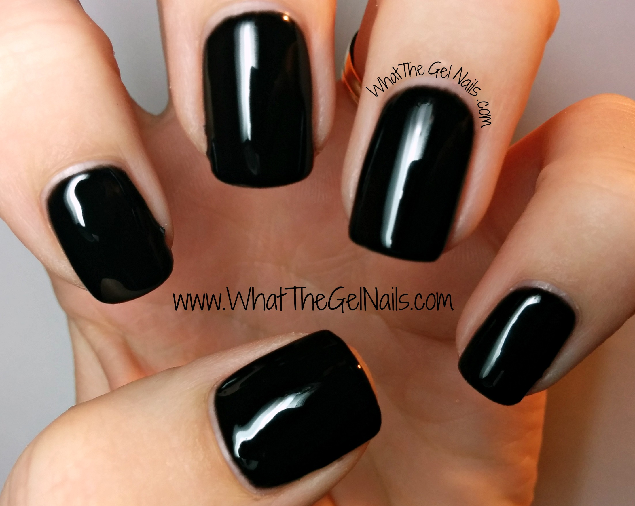 Ibd Black Lava Just Gel Nail Polish Color