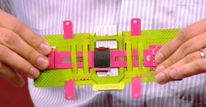 Pocket-sized microscope made from folded paper