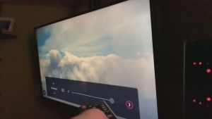 Clouds on TV