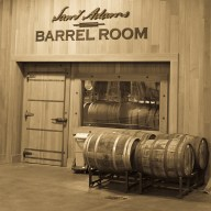 Sam Adams Boston Brewery Barrel Room