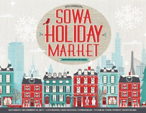 SOWA Boston Holiday Market Card