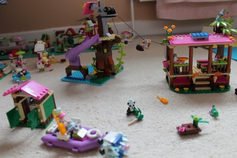 LEGO Friends Jungle Rescue Base Review   What To Do With The Kids LEGO Friends Jungle Rescue Base Review