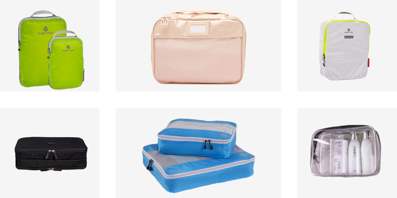 8 Best Packing Cubes Ever.