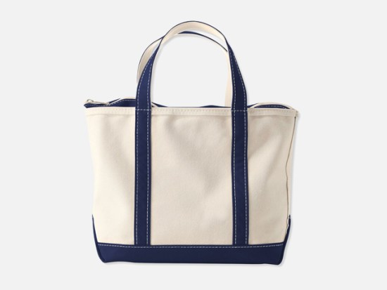 Boat and Tote, Zip-Top.