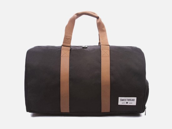 Sweetbriar Classic Duffle Bag - Weekender Duffel with Shoe Compartment.