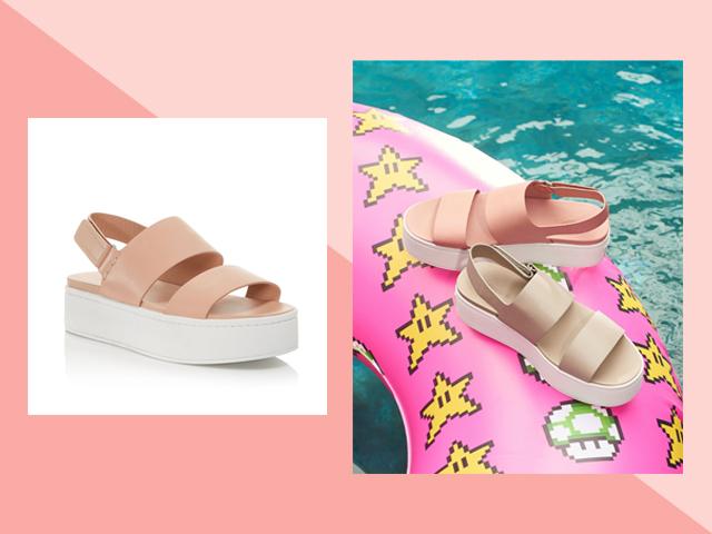 Travel Heels Bloomingdale's Vince Women's Westport Leather Platform Sandals