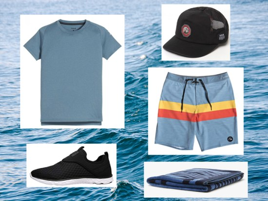 What to Wear Swimming, Men's Outfit