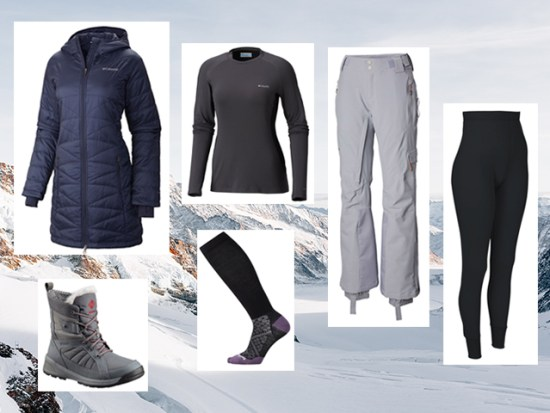 What to Wear Winter Hiking, Women's Outfit