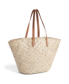 Gap Large Woven Straw Tote