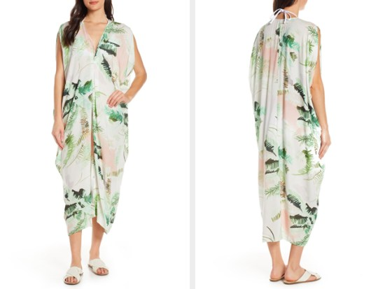 Floral Cover-Up Caftan LENNY NIEMEYER