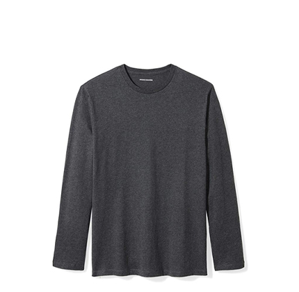 Amazon Essentials Men's Regular-Fit Long-Sleeve T-Shirt.