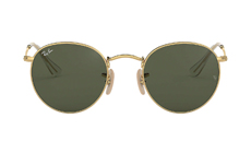 Ray-Ban Round Metal Classic Sunglasses.