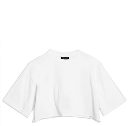 Topshop Cropped T-Shirt.