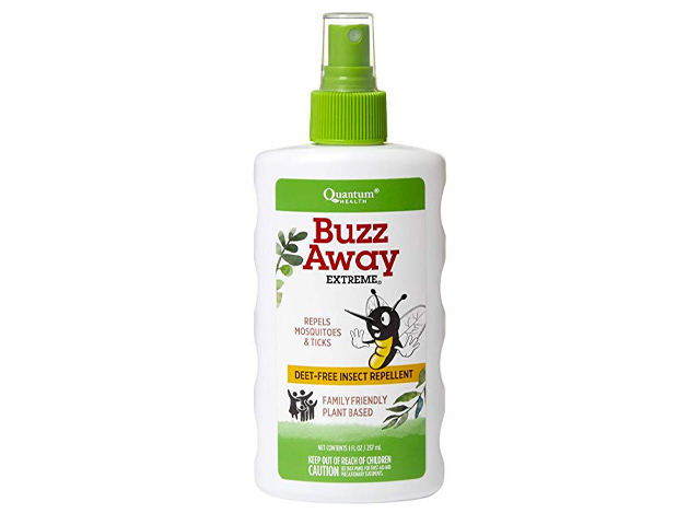 Quantum Health Buzz Away Extreme - DEET-free Insect Repellent.