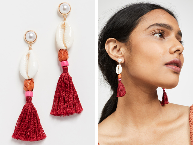 Shashi Treasure Island Earrings.