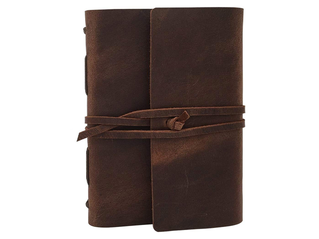 Leather Journal Writing Notebook.