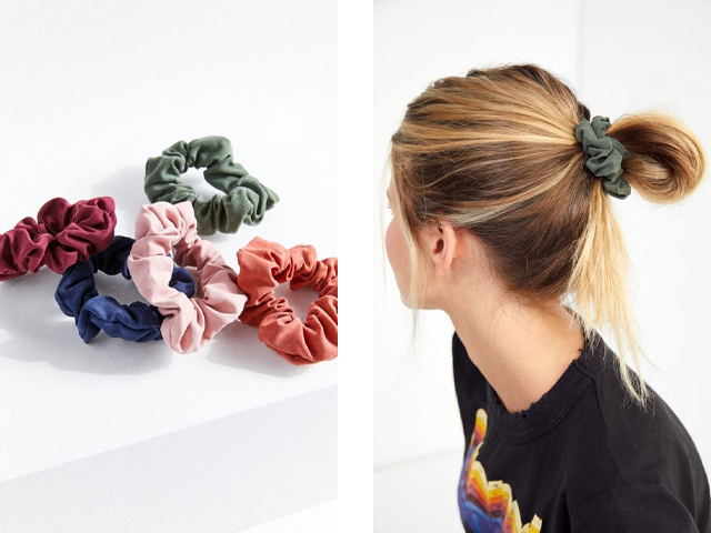 Urban Outfitters Days Of The Week Scrunchie Set.