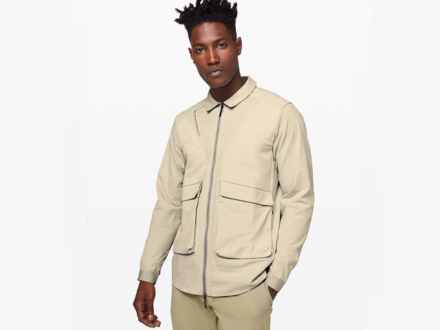 Eurus Shirt Jacket lululemon lab.