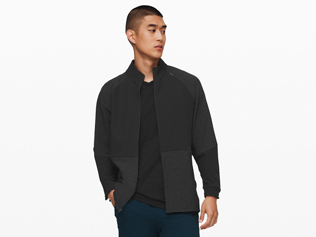 Lululemon License to Train Track Jacket.