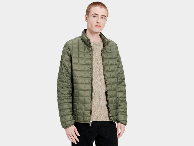 JOEL PACKABLE QUILTED JACKET.